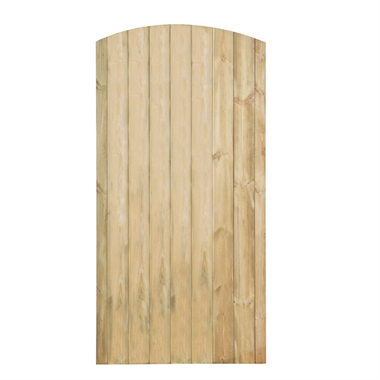 Arch Tongue and Groove Gate
